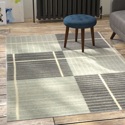 Wilbraham Silver Area Rug Rug Size: 86 x 116