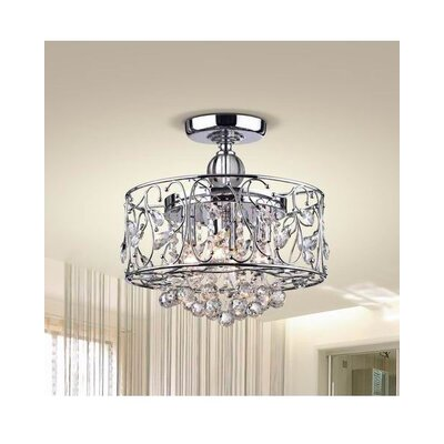 Bowe 4-Light Semi Flush Mount