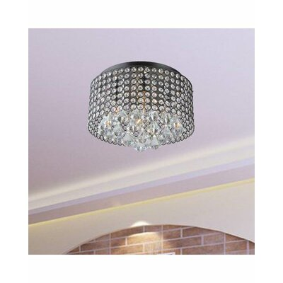 Roxana 4-Light Flush Mount