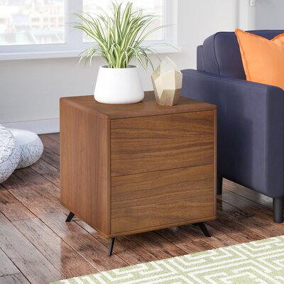Dushore End Table Color: Walnut