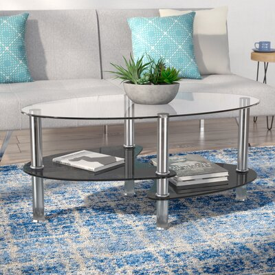 Odette Coffee Table Top Color: Black