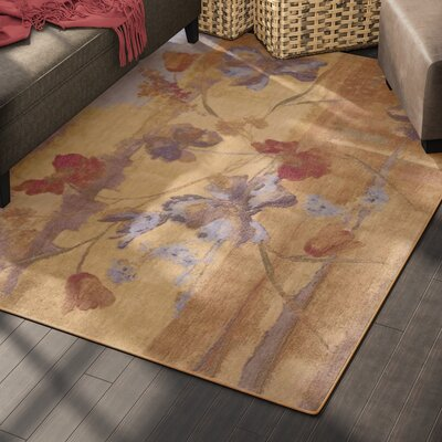 Smithtown Beige Area Rug Rug Size: Rectangle 53 x 75