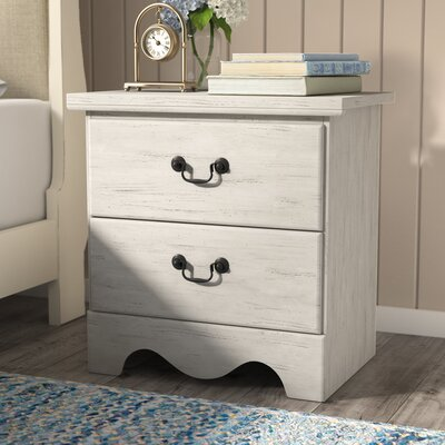 Cierra 2 Drawer Nightstand