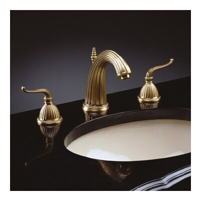 Modish Brass Widespread Double Handle Bathroom Faucet