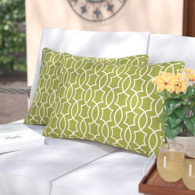 Maryville Indoor/Outdoor Lumbar Pillow Color: Kiwi