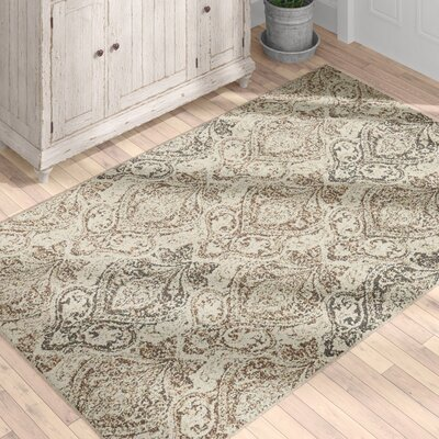 Forcalquier Southwestern Beige Indoor Area Rug Rug Size: Rectangle 4 x 6