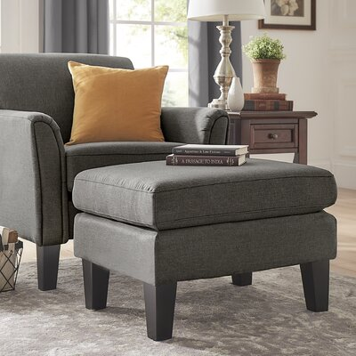 Minisink Ottoman Upholstery: Dark Gray