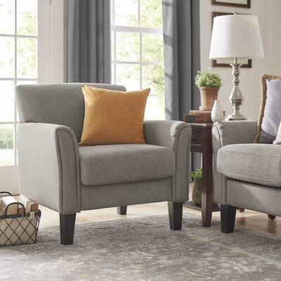 Minisink Armchair Upholstery: Gray