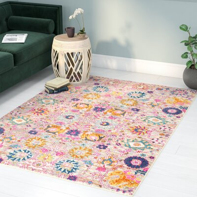 Parsons Silver Indoor Area Rug Rug Size: Rectangle 53 x 73