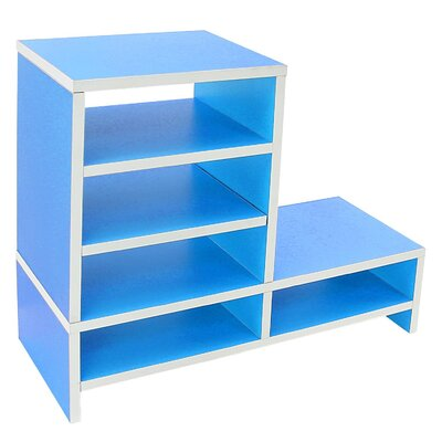 Donoghue Compartment Organizer TV Stand Color: Lake Blue