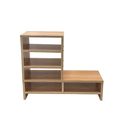 Donoghue Compartment Organizer TV Stand Color: Natural