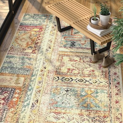 Gloucester Multicolor Area Rug Rug Size: Rectangle 106 x 165