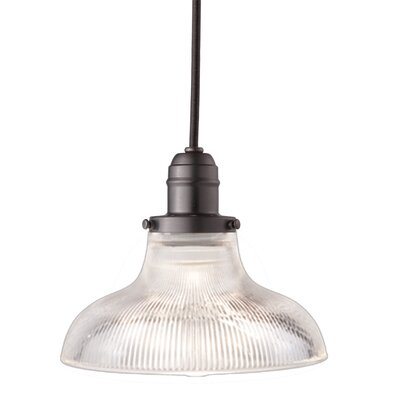 Birchover 1-Light Inverted Pendant Finish: Old Bronze, Size: 10.5 H x 8.5 W x 8.5 D