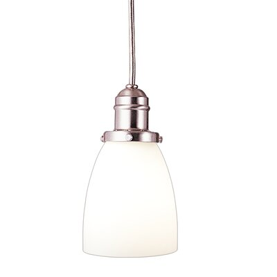 Birchover 1-Light Mini Pendant Finish: Satin Nickel