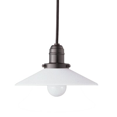 Birchover Contemporary 1-Light Bell Mini Pendant Finish: Old Bronze, Size: 10.5 H x 8 W x 8 D