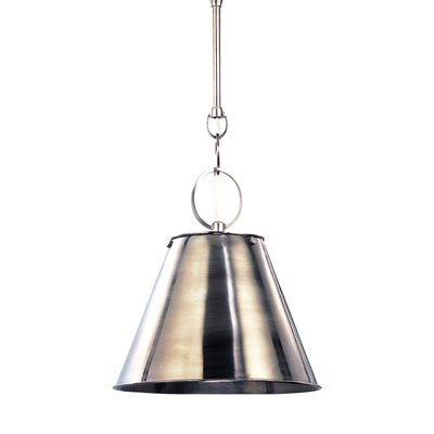 Molly Metal 1-Light Mini Pendant Finish: Historic Nickel