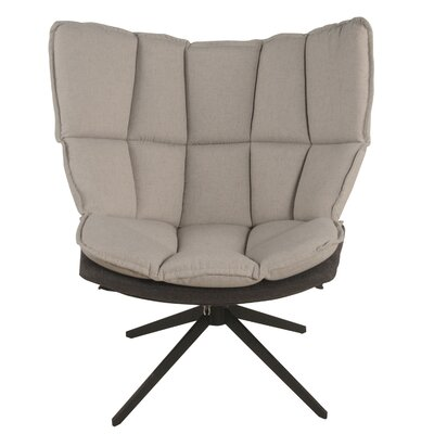 Carrell Swivel Barrel Chair