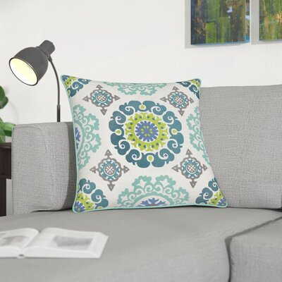 Naumann 100% Cotton Pillow Cover Size: 18 H x 18 W, Color: Mint