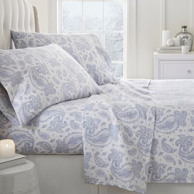 Lerna 4 Piece Sheet Set Size: California King