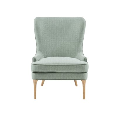 Erin Side Chair Upholstery: Green