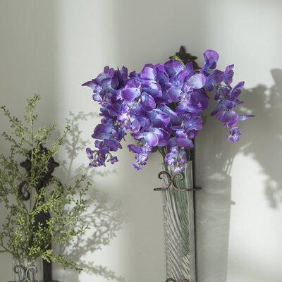 Wisteria Bush Flowers (Set of 6) Flower Color: Vibrant Purple/Lavender Tones OPCO2707 39831680