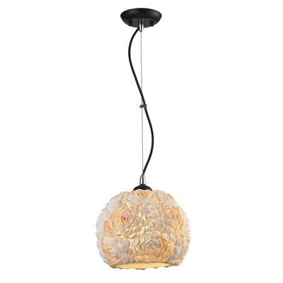 Petrosky Sea-Shell 1-Light Mini Pendant