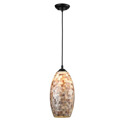 Highvale Sea-Shell 1-Light Mini Pendant