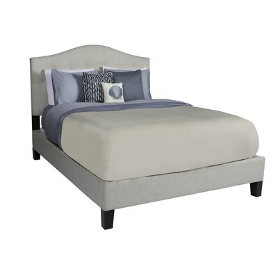 Anguila Upholstered Platform Bed Size: King