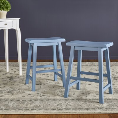 Sharman 24 Bar Stool Finish: Blue