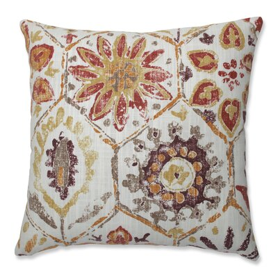 Johnston Stone Spice Throw Pillow Size: 16.5 x 16.5