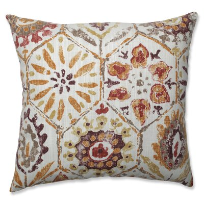 Johnston Stone Spice Throw Pillow Size: 18