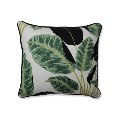 Biscay Hojas Cubanas Rainforest Throw Pillow Size: 16.5 x 16.5