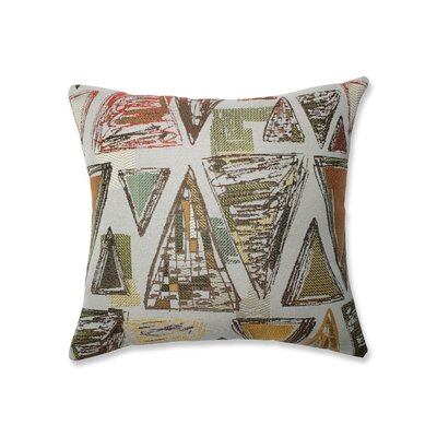 Nowicki Triangle Tapestry Throw Pillow Size: 16.5 x 16.5