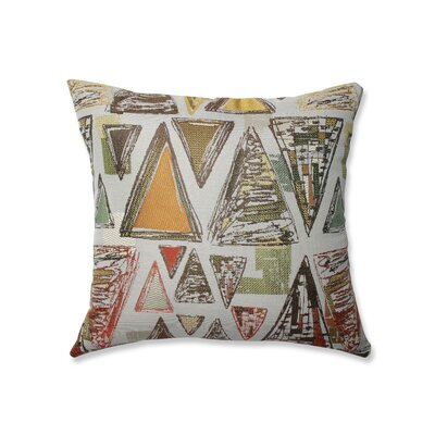Nowicki Triangle Tapestry Throw Pillow Size: 18 x 18