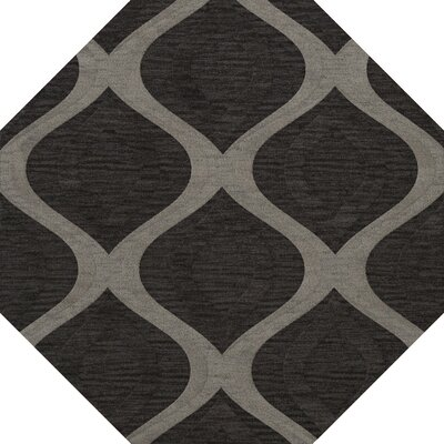 Sarahi Wool Metal Area Rug Rug Size: Octagon 10