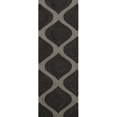 Sarahi Wool Metal Area Rug Rug Size: Runner 2'6