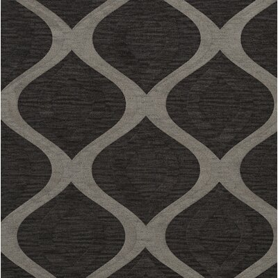 Sarahi Wool Metal Area Rug Rug Size: Square 10