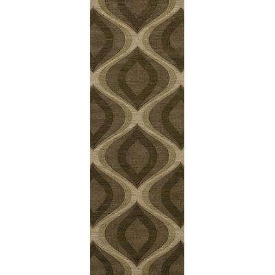 Estelle Wool Oasis Area Rug Rug Size: Runner 26 x 10