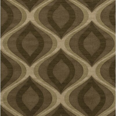 Estelle Wool Oasis Area Rug Rug Size: Square 8