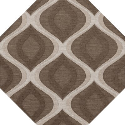 Kaidence Wool Pebble Area Rug Rug Size: Octagon 6