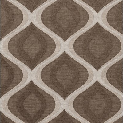 Kaidence Wool Pebble Area Rug Rug Size: Square 12'
