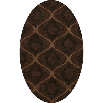 Sarahi Wool Pinecone Area Rug Rug Size: Oval 5 x 8