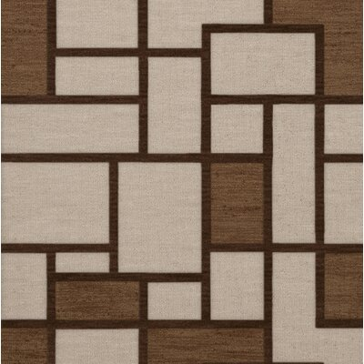 Halford Wool Earth Area Rug Rug Size: Square 12