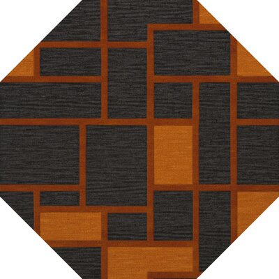 Halina Wool Fog Area Rug Rug Size: Octagon 4