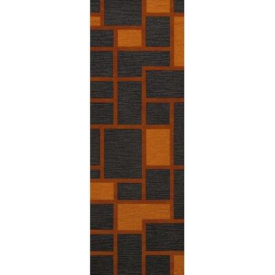 Halina Wool Fog Area Rug Rug Size: Runner 26 x 12