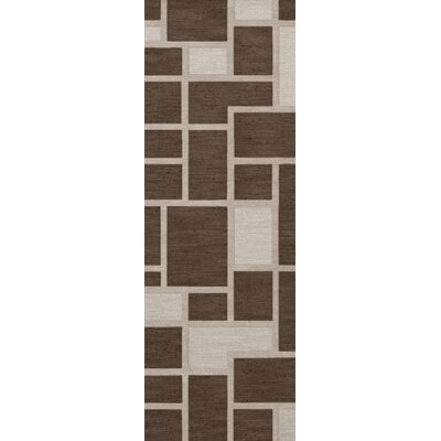 Hallberg Wool Saddle Area Rug Rug Size: Runner 26 x 8