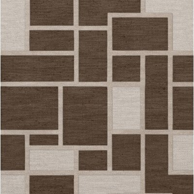 Hallberg Wool Saddle Area Rug Rug Size: Square 12