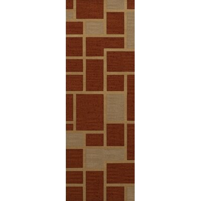 Hallenbeck Wool Wheat Area Rug Rug Size: Runner 26 x 8