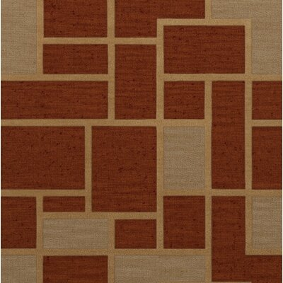Hallenbeck Wool Wheat Area Rug Rug Size: Square 4'