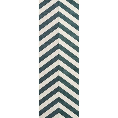 Stidham Wool Baltic Area Rug Rug Size: Runner 26 x 8